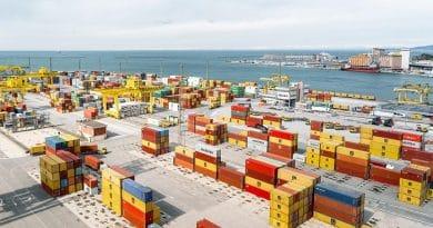 Пристаништето Трст
